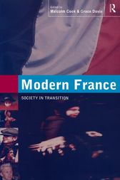 Modern France by Malcolm Cook
