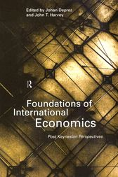 Foundations of International Economics by Johan Deprez