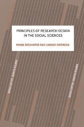 Principles of Research Design in the Social Sciences by Frank Bechhofer