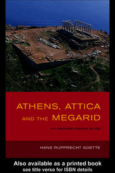Athens, Attica and the Megarid by Hans Rupprecht Goette