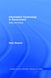 Information Technology in Government by Helen Margetts