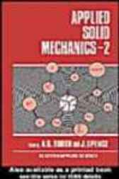 Applied Solid Mechanics by A S Tooth