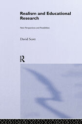 Realism and Educational Research by David Scott