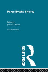 Percy Bysshe Shelley by James E. Barcus