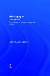 Philosophy of Nonsense by Jean-Jacques Lecercle