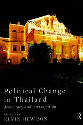 Political Change in Thailand by Kevin Hewison