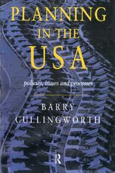 Planning in the USA by Barry Cullingworth