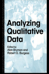 Analyzing Qualitative Data by Alan Bryman