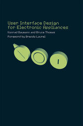 User Interface Design of Electronic Appliances by Konrad Baumann