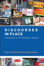 Discourses in Place by Ron Scollon