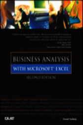 Business Analysis with Microsoft Excel, Adobe Reader by Conrad Carlberg