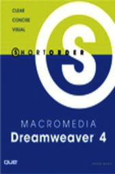 Short Order Macromedia Dreamweaver 4, Adobe Reader by Steven Moniz