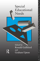 Special Educational Needs by Ronald Gulliford