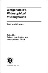Wittgenstein's Philosophical Investigations by Robert Arrington