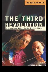 The Third Revolution by Professor Harold Perkin