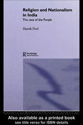 Religion and Nationalism in India by Harnik Deol