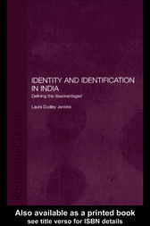 Identity and Identification in India by Laura Dudley Jenkins