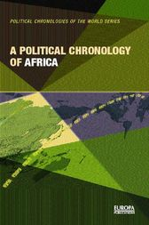A Political Chronology of Africa by Europa Publications