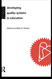 Developing Quality Systems in Education by Geoff Doherty