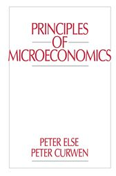 Principles of Microeconomics by Peter Curwen