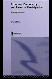 Economic Democracy and Financial Participation by Daryl D'Art