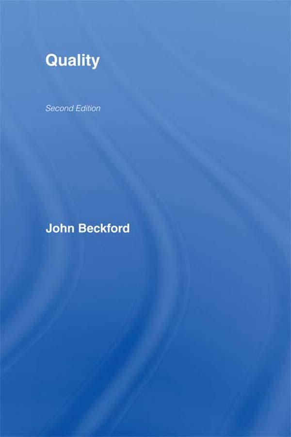 Download Ebook Quality by John Beckford Pdf