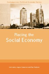 Placing the Social Economy by Ash Amin