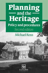 Planning and the Heritage by Michael Ross