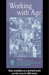 Working with Age by J C Marquie