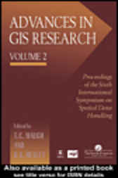 Advances in GIS Research: Proceedings of the Sixth by Tom Waugh