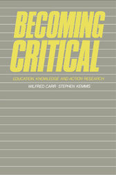 Becoming Critical by Wilfred Carr
