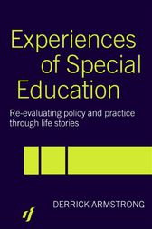 Experiences of Special Education by Derrick Armstrong