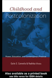 Childhood and Postcolonization by Gaile S. Cannella