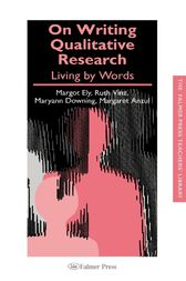 On Writing Qualitative Research by Margaret Anzul