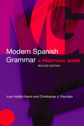 Modern Spanish Grammar by Christopher Pountain