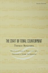 The Craft of Tonal Counterpoint by Thomas Benjamin