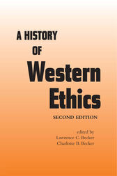 A History of Western Ethics by Charlotte B. Becker