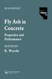 Fly Ash in Concrete by K. Wesche