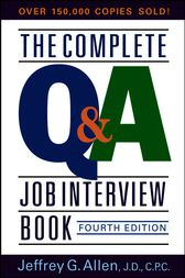 The Complete Q&A Job Interview Book by Jeffrey G. Allen