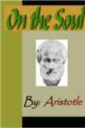 On the Soul - ARISTOTLE by Aristotle