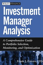 Investment Manager Analysis by Frank J. Travers