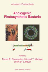 Anoxygenic Photosynthetic Bacteria by R.E. Blankenship
