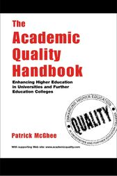 Academic Quality Handbook Rb by Patrick Mcghee