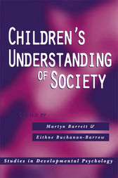 Children's Understanding of Society by Martyn Barrett