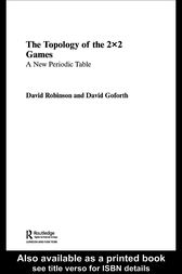 Topology of 2x2 Games by David Goforth