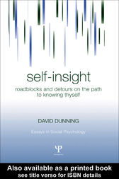 Self-Insight by David Dunning