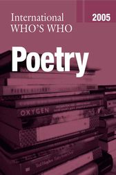 International Who's Who in Poetry 2005 by Europa Publications