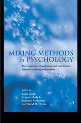 Mixing Methods in Psychology by Zazie Todd