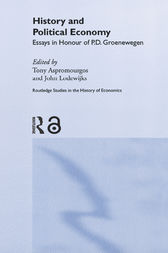 History and Political Economy by Tony Aspromourgos