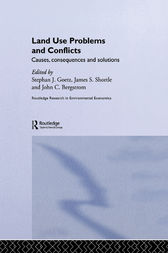 Land Use Problems and Conflicts by John C. Bergstrom